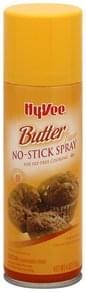 Hy Vee No-Stick Spray Butter Flavor