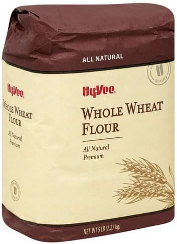 Hy Vee Whole Wheat Flour - 5 lb