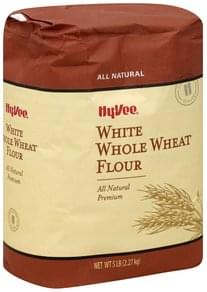 Hy Vee Flour White Whole Wheat