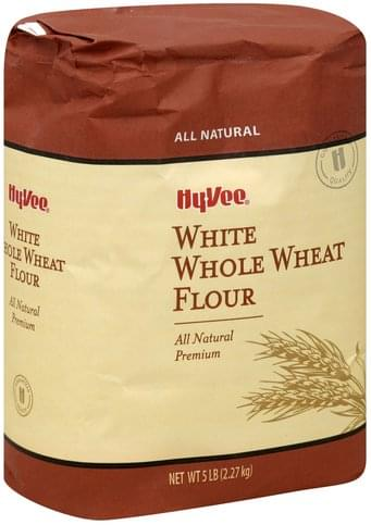 Hy Vee White Whole Wheat Flour - 5 lb