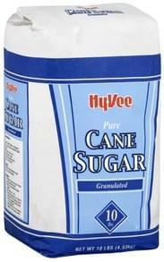 Hy Vee Cane Sugar Pure, Granulated