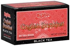 Hy Vee Black Tea English Breakfast