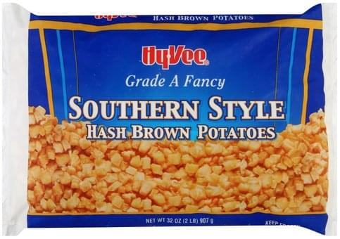 Hy Vee Hash Brown, Southern Style Potatoes - 32 oz