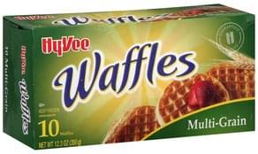 Hy Vee Waffles Multi-Grain