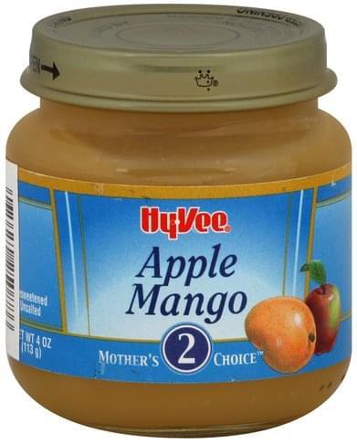 Hy Vee Stage 2 Apple Mango - 4 oz