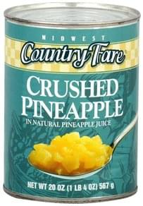 Midwest Country Fare Pineapple Crushed