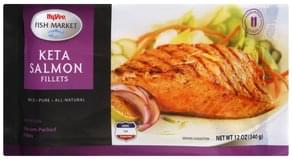 Hy Vee Keta Salmon Fillets