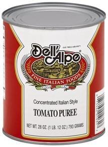 Dell Alpe Tomato Puree Concentrated Italian Style