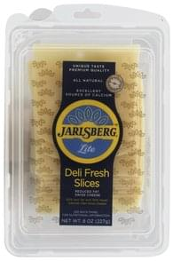 Jarlsberg Cheese Slices Reduced Fat, Lite, Swiss