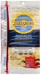 Jarlsberg Cheese Reduced Fat, Swiss, Deli Sliced