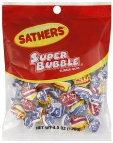 Sathers Bubble Gum Super Bubble
