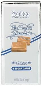 Sorbee Milk Chocolate Flavored Bar