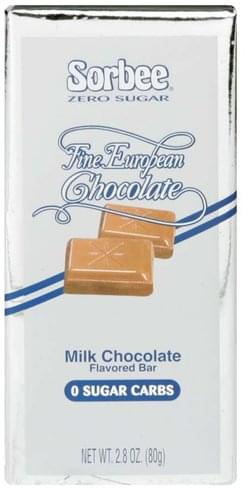 Sorbee Milk Chocolate Flavored Bar - 2.8 oz