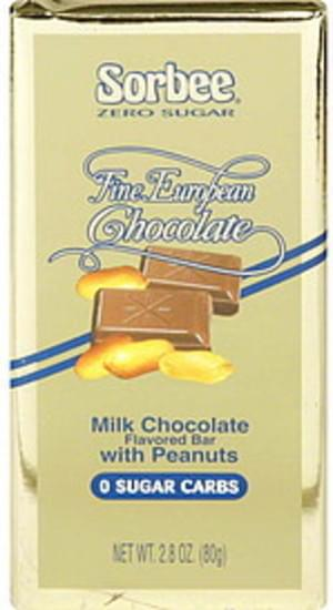 Sorbee with Peanuts Milk Chocolate Flavored Bar - 2.8 oz