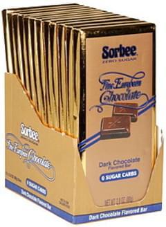 Sorbee Dark Chocolate Flavored Bar