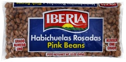 Iberia Pink Beans - 12 oz