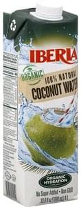 Iberia Coconut Water 100% Natural, Organic