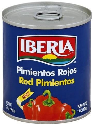 Iberia Red, Fancy Pimientos - 7 oz