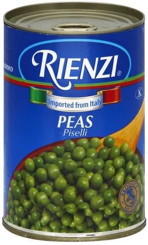 Rienzi Peas - 15 oz