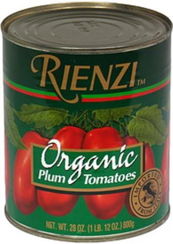 Rienzi Plum Tomatoes - 28 oz