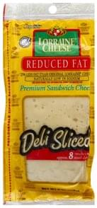 Lorraine Cheese Cheese Premium Sandwich, Reduced Fat
