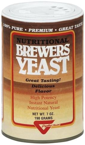 Gayelord Hauser Nutritional Brewers Yeast - 7 oz