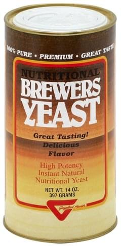 Gayelord Hauser Nutritional Brewers Yeast - 14 oz