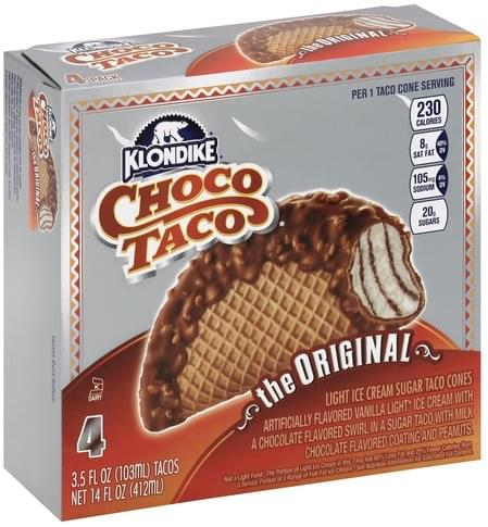 4 Pack Choco Tacos