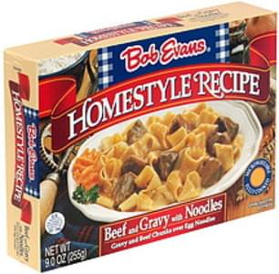 Bob Evans Beef and Gravy with Noodles