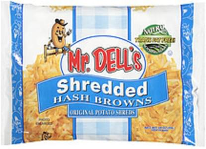 Mr. Dell's Hash Browns Shredded