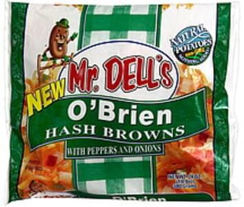 Mr. Dell's Hash Browns O'Brien with Peppers and Onions