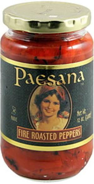 Paesana Fire Roasted Peppers - 12 oz