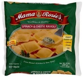 Mama Rosies Ravioli Spinach & Cheese