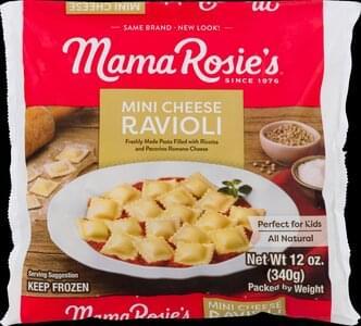 Mama Rosies Ravioli Cheese, Mini