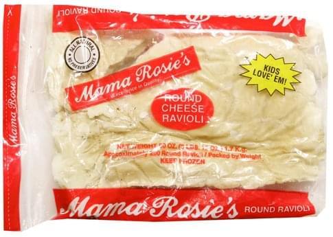Mama Rosies Cheese Round Ravioli - 200 ea