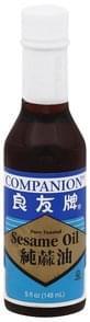 Companion Sesame Oil Pure Toasted
