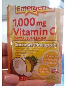 Emergen-C 1 Coconut-Pineapple