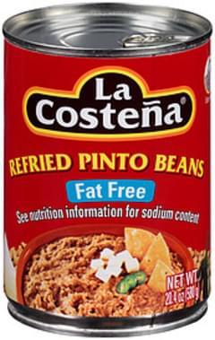 La Costena Pinto Beans Fat Free Refried