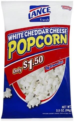 Lance White Cheddar Cheese Popcorn - 3