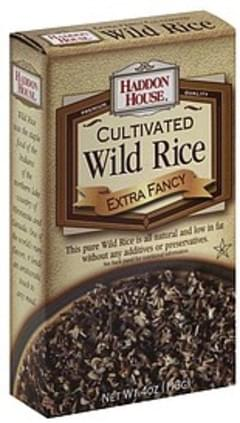 Haddon House Wild Rice Cultivated, Extra Fancy