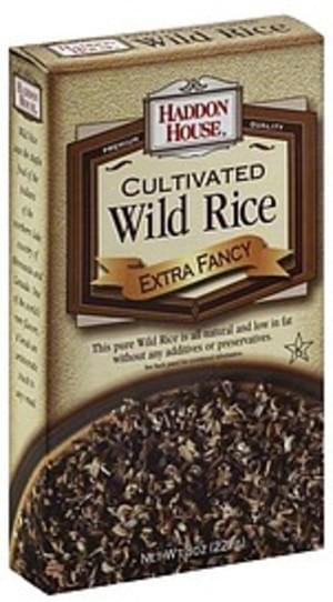 Haddon House Cultivated, Extra Fancy Wild Rice - 8 oz