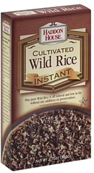 Haddon House Cultivated, Instant Wild Rice - 2.75 oz