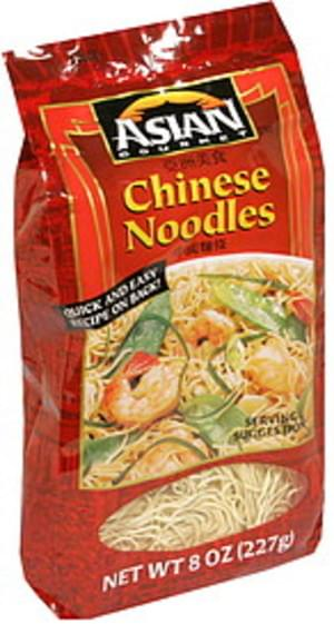 Asian Gourmet Chinese Noodles 8 Oz Nutrition Information Innit