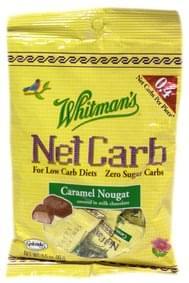 Whitmans Candy Caramel Nougat