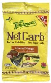Whitmans Candy Almond Nougat