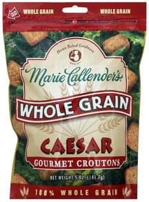 Marie Callenders Croutons Gourmet, Whole Grain, Caesar