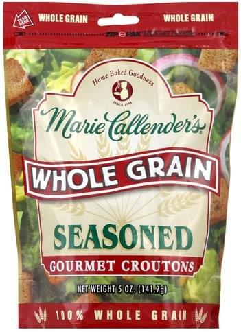 Marie Callenders Gourmet, Whole Grain, Seasoned Croutons - 5 oz
