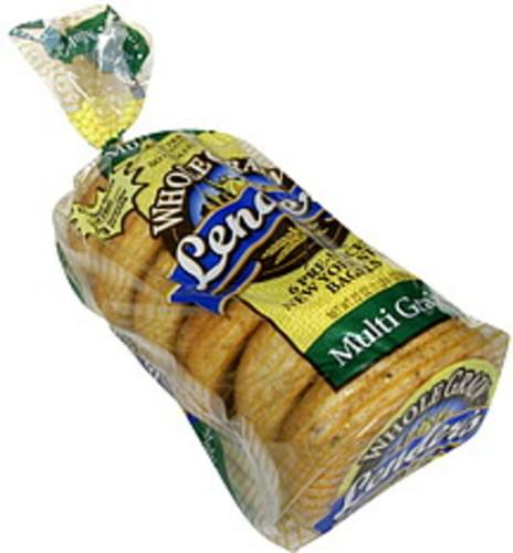 Lender's Multi Grain, Pre-Sliced New York Style Bagels - 6 ea
