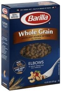 Barilla Elbows Whole Grain