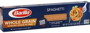 Barilla Pasta Whole Grain, Spaghetti